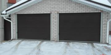 Преимущества секционных гаражных ворот
